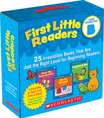 First Little Readers: Guided Reading Level B (Parent Pack): 25 Irresistible Books That Are Just the Right Level for Beginning Readers-cover
