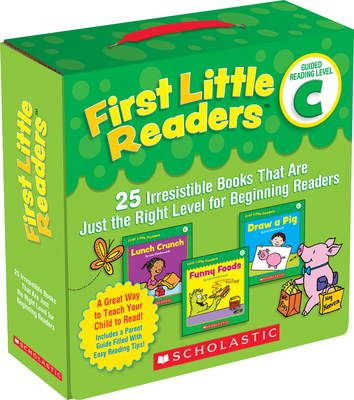First Little Readers: Guided Reading Level C (Parent Pack): 25 Irresistible Books That Are Just the Right Level for Beginning Readers-cover