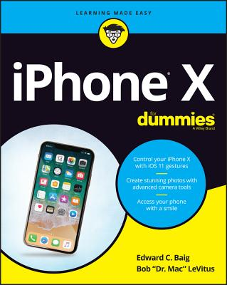 iPhone X for Dummies-cover