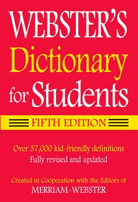 Webster's Dictionary for Students-cover