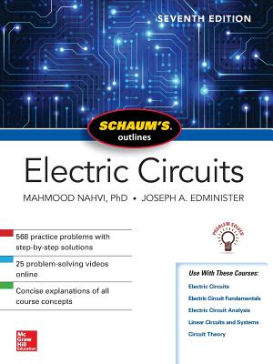 Schaum's Outline of Electric Circuits, Seventh Edition-cover