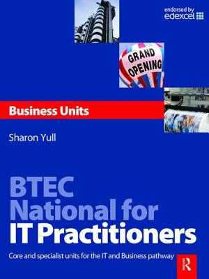 Btec National for It Practitioners: Business Units-cover