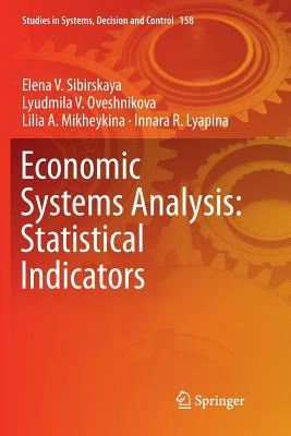 Economic Systems Analysis: Statistical Indicators-cover