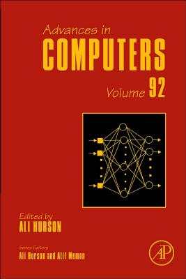 Advances in Computers, Volume Ninety Two-cover