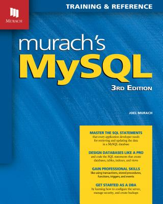 Murach's MySQL, 3/e (Paperback)-cover