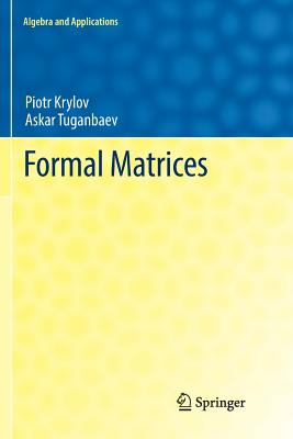Formal Matrices-cover