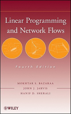 Linear Programming and Network Flows, 4/e (Hardcover)-cover
