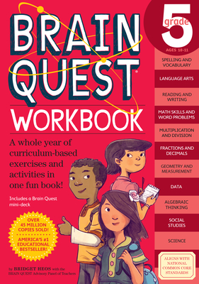 Brain Quest Workbook: 5th Grade-cover
