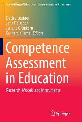 Competence Assessment in Education: Research, Models and Instruments-cover
