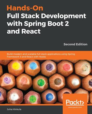 Hands-On Full Stack Development with Spring Boot 2 and React - Second Edition-cover