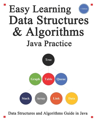 Easy Learning Data Structures & Algorithms Java Practice: Data Structures and Algorithms Guide in Java-cover