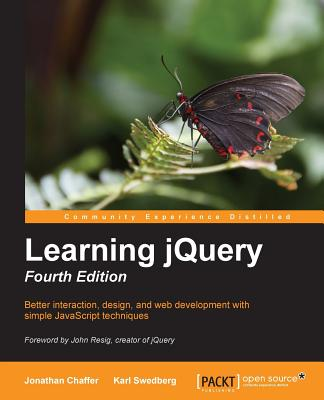 Learning jQuery, 4/e (Paperback)-cover