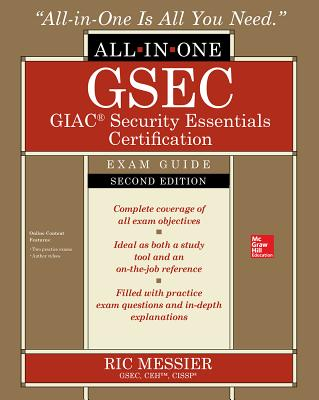 GSEC GIAC Security Essentials Certification All-in-One Exam Guide, Second Edition -cover
