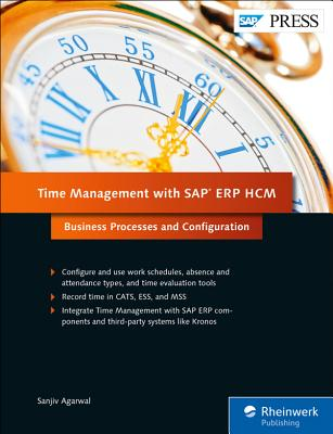 Time Management with SAP Erp Hcm: Business Processes and Configuration-cover