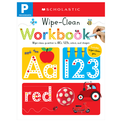 Pre-K Wipe-Clean Workbook: Scholastic Early Learners (Wipe-Clean)-cover