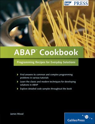 ABAP Cookbook: Programming Recipes for Everyday Solutions-cover