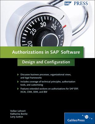 Authorizations in SAP Software: Design and Configuration: SAP Authorization System Design and Configuration-cover