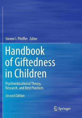 Handbook of Giftedness in Children: Psychoeducational Theory, Research, and Best Practices-cover