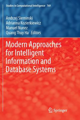 Modern Approaches for Intelligent Information and Database Systems-cover
