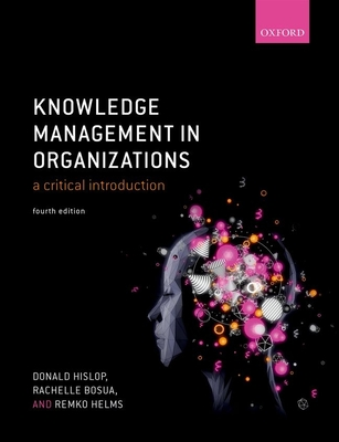 Knowledge Management in Organizations: A Critical Introduction-cover