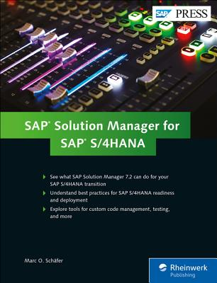 SAP Solution Manager for SAP S/4hana: Managing Your Digital Business-cover