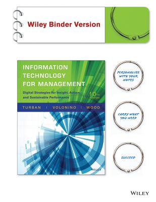 Information Technology for Management: Digital Strategies for Insight, Action, and Sustainable Performance-cover