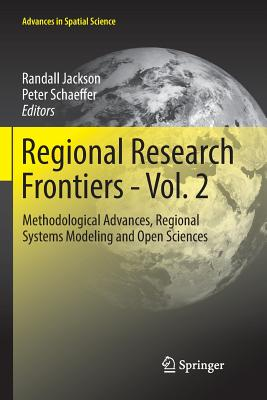 Regional Research Frontiers - Vol. 2: Methodological Advances, Regional Systems Modeling and Open Sciences-cover