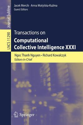 Transactions on Computational Collective Intelligence XXXI-cover