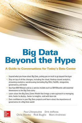 Big Data Beyond the Hype: A Guide to Conversations for Today's Data Center-cover
