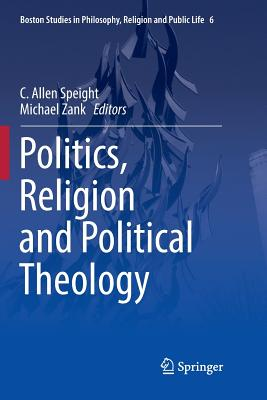 Politics, Religion and Political Theology-cover