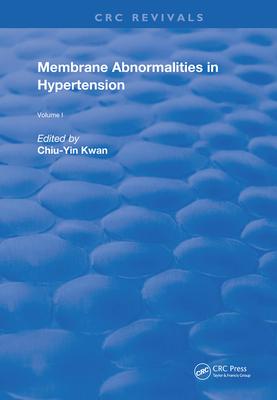 Membrane Abnormalities in Hypertension-cover