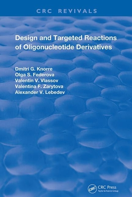 Design and Targeted Reactions of Oligonucleotide Derivatives-cover