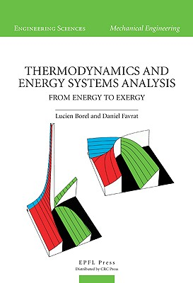 Thermodynamics and Energy Systems Analysis: Vol. 1: From Energy to Exergy-cover