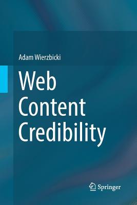 Web Content Credibility-cover