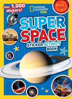 Super Space Sticker Activity Book-cover
