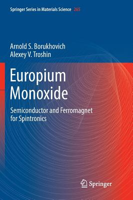 Europium Monoxide: Semiconductor and Ferromagnet for Spintronics-cover