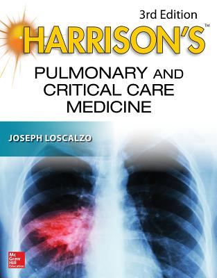 Harrison's Pulmonary and Critical Care Medicine, 3e ( Harrison's Specialty ) -cover