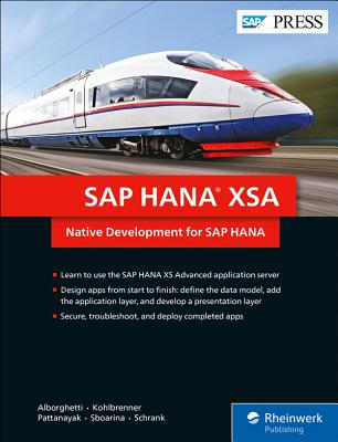 SAP Hana Xsa: Native Development for SAP Hana-cover