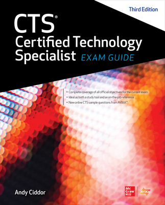 CTS Certified Technology Specialist Exam Guide, Third Edition -cover