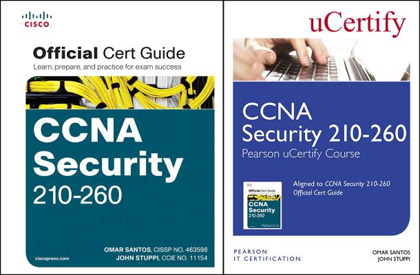 CCNA Security 210-260 Pearson Ucertify Course and Textbook Bundle-cover