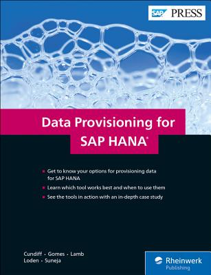 Data Provisioning for SAP Hana-cover