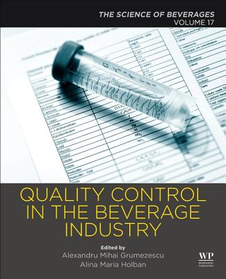 Quality Control in the Beverage Industry: Volume 17: The Science of Beverages-cover