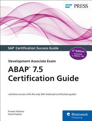 ABAP 7.5 Certification Guide: Development Associate Exam-cover