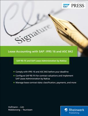 Lease Accounting with Sap: Ifrs 16 and Asc 842: SAP Re-Fx and SAP Lease Administration by Nakisa-cover
