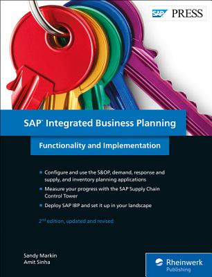 SAP Integrated Business Planning: Functionality and Implementation-cover