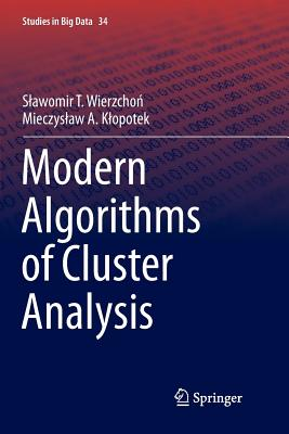 Modern Algorithms of Cluster Analysis-cover
