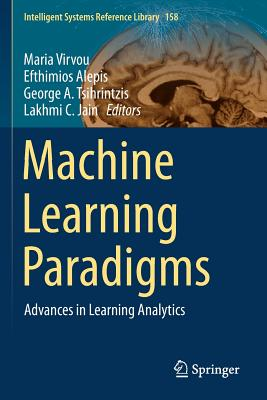 Machine Learning Paradigms: Advances in Learning Analytics-cover