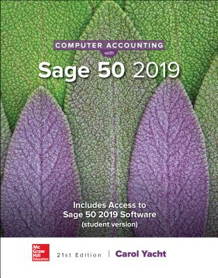 Computer Accounting with Sage 50 2019-cover