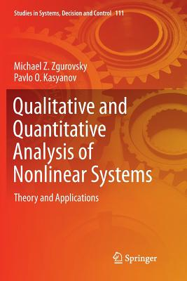 Qualitative and Quantitative Analysis of Nonlinear Systems: Theory and Applications-cover