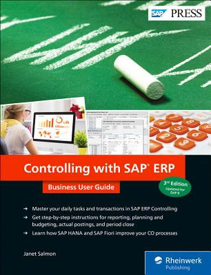 Controlling with SAP Erp: Business User Guide-cover